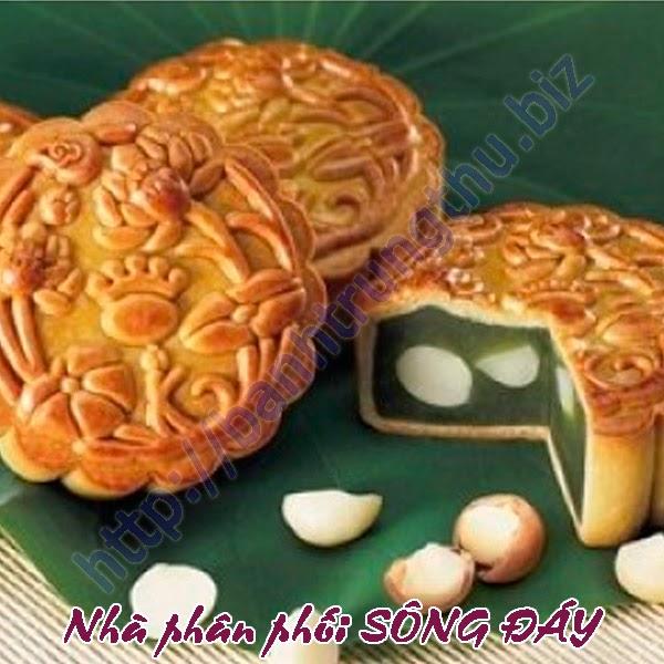 Bánh trung thu Kinh Đô hạt sen trà xanh