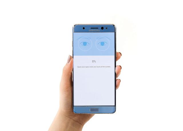 Todo sobre el escáner del Iris del Samsung Galaxy Note 7