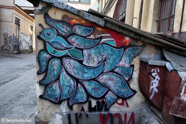 граффити питер