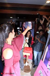 Indian Tennis Star Sania Mirza Pos in Red Short Dress at  0003.jpg