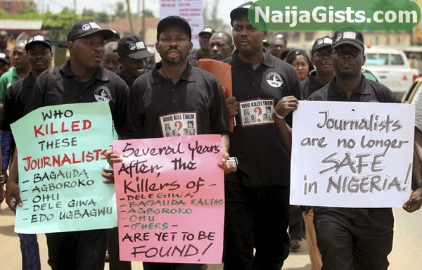 nigerian journalists attacked