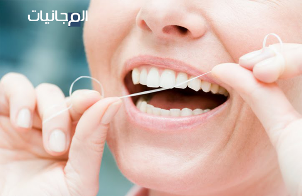 احصل على خيط لتنظيف الأسنان مجانا الى غاية باب منزلك