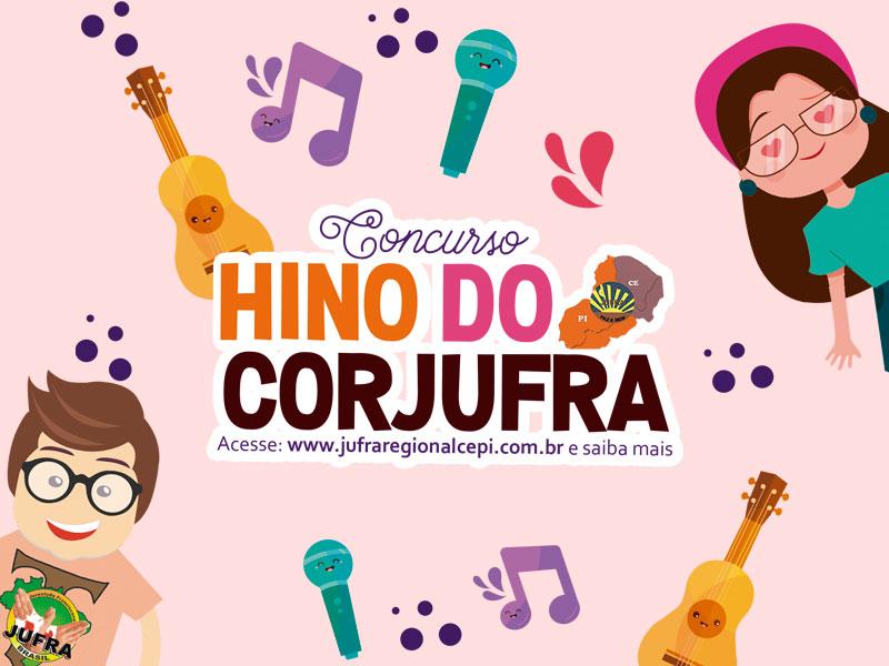 CONCURSO HINO DO CORJUFRA REGIONAL NE A2 CE /PI| Confira as regras e participe!