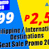 P599 All In SEAT SALE - KALIBO Lowest Fare Domestic International Destinations 2018 BOOK NOW