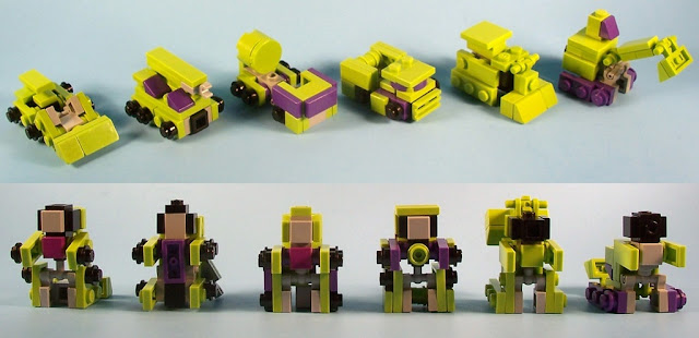 lego transformers how to build