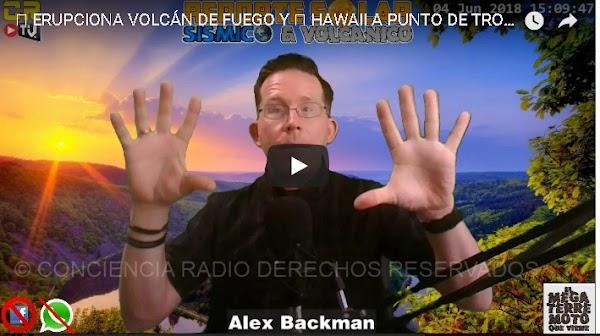 ERUPCIONA VOLCÁN DE FUEGO Y 🌋 HAWAII A PUNTO DE TRONAR | REPORTE SOLAR SÍSMICO Y VOLCÁNICO