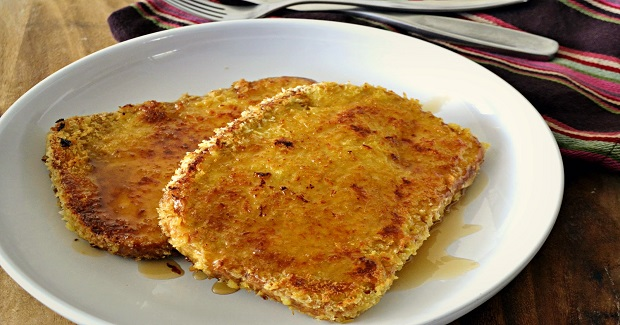 Crispy Sweet & Salty French Toast Recipe