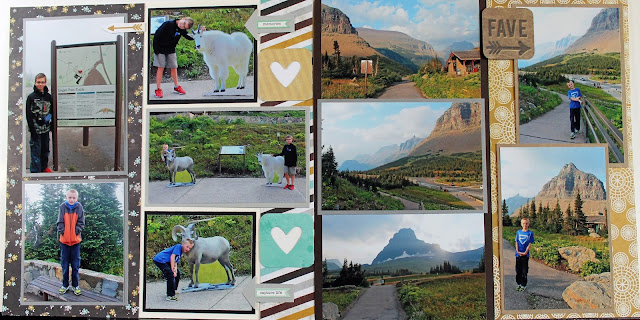 Adventure Scrapbooks: Glacier National Park Album 2: Going