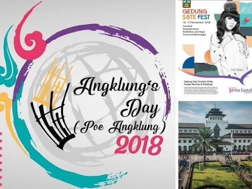 Event di Gedung Sate 16-18 November 2018