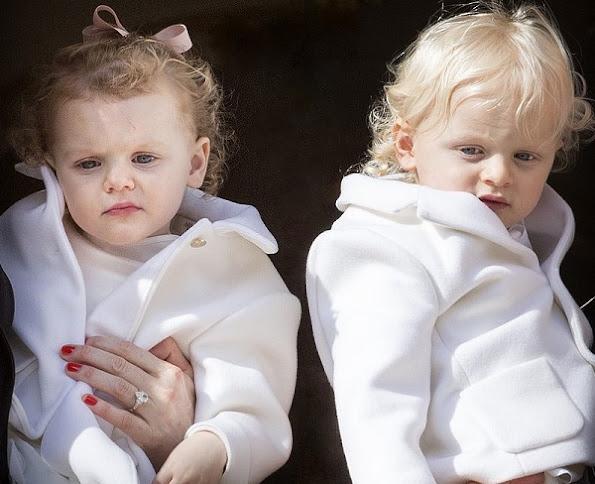 Prince Albert's and Princess Charlene's twins Princess Gabriella and Prince Jacques Happy birthday