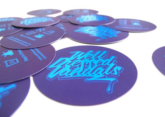 tarjetas de presentacion purpura ejemplos