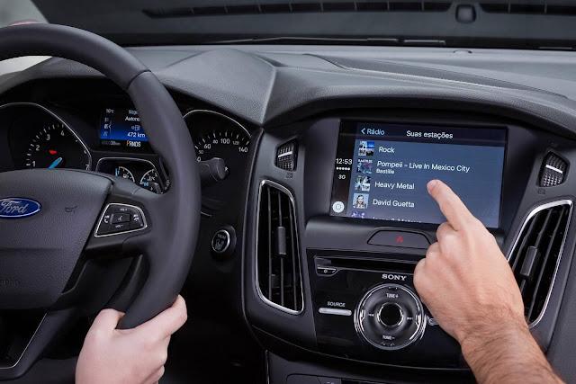 Novo Ford Focus 2017 Fastback - interior