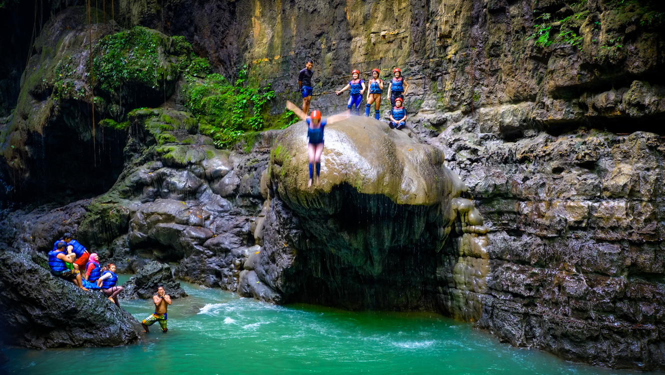 Green Canyon Hidden Paradise in Ciamis Indonesia Tourism