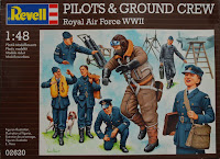 Figurines Royal Air Force  1/48 Revell.