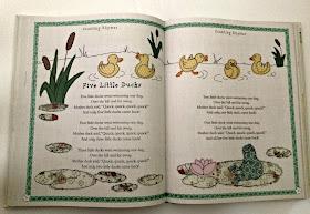 children nursery rhyme book