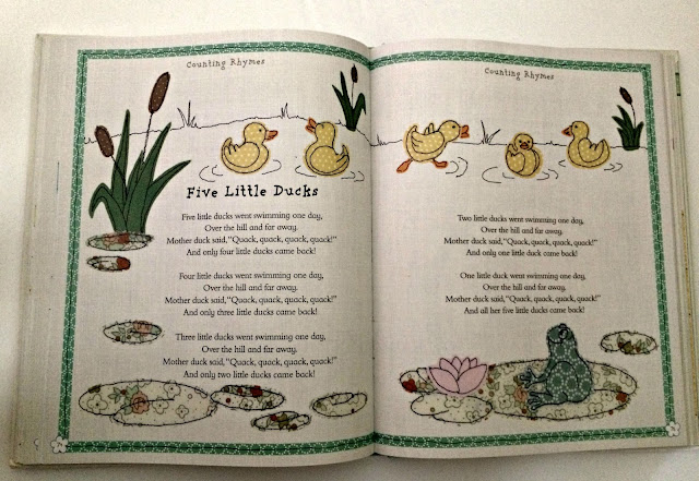 children nursery rhyme book