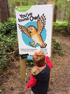 A sign that says 'you've found owl'