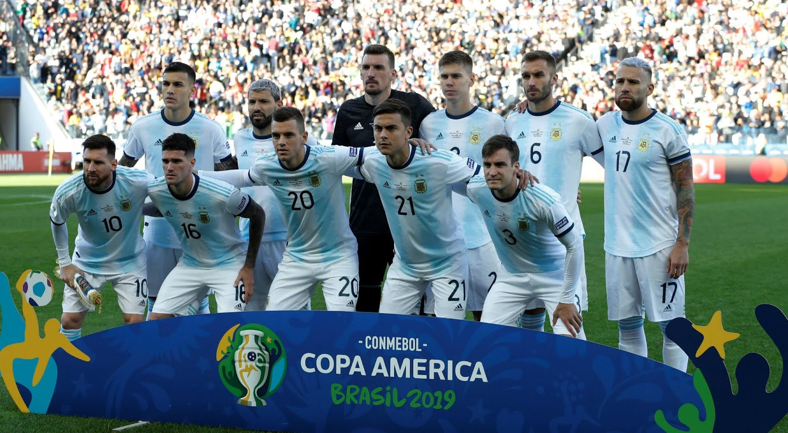 Formación de Argentina ante Chile, Copa América 2019, 6 de julio