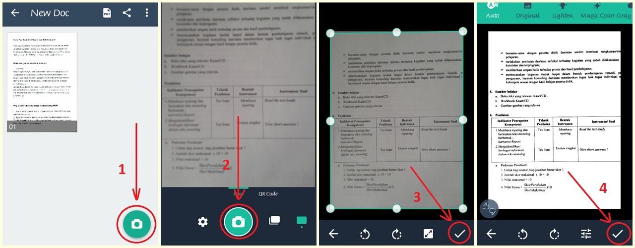 Cara Scan Dokumen Menggunakan Smartphone Android Atarahmad