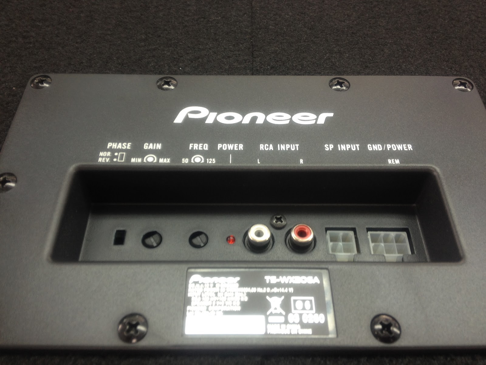 Demac Audio House Pioneer Ts Wx206a Subwoofer With Built