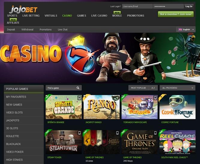 JojoBet Casino