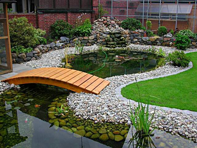 If you are a nature lover and want to expend more time in your outdoor especially in your garden, there are more ideas to make your garden more nature, like adding small ponds. I've have collected 65 ideas of ponds with different styles. Have a look for it and choose one design for your garden.