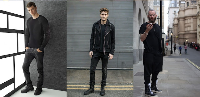 all black outfits, moda masculina