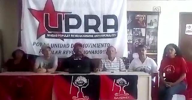 COMUNICADO: La Clase Obrera de UPRA se pronuncia ante el País
