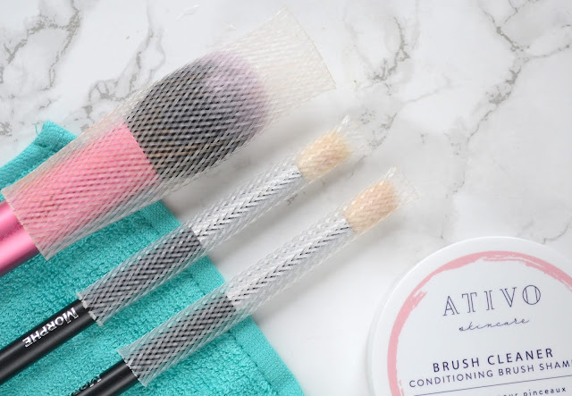 Ativo Brush Cleaner Review
