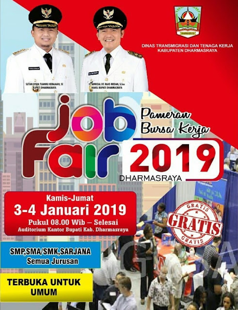 Job Fair DINASKER Dharmasraya