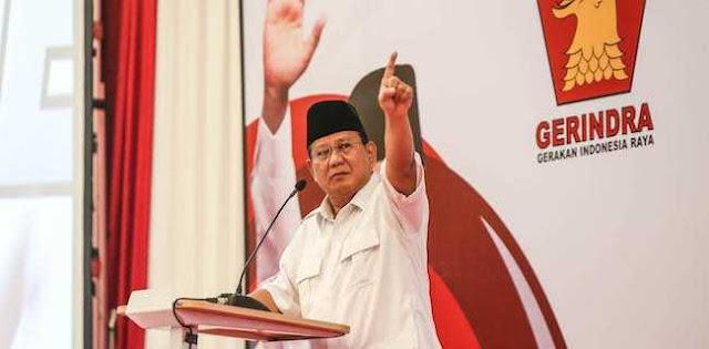 Prabowo Desak Pemerintah Lakukan Visum Ke Petugas KPPS Yang Gugur