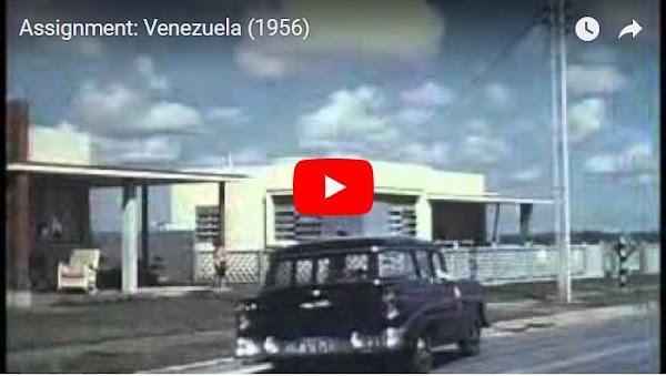 Película de 1956 cuenta la vida de un ingeniero petrolero en Venezuela