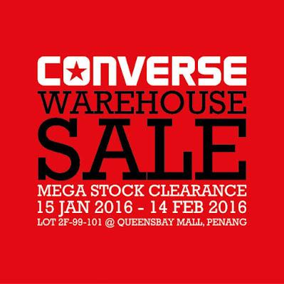 Converse Malaysia Warehouse Sale