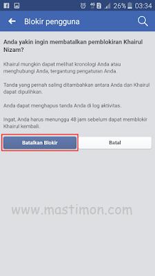 Cara Membuka Fb Teman Yang Sudah Memblokir Kita : membuka, teman, sudah, memblokir, Membuka, Membatalkan, Facebook, BLOKIR, Dengan, Mudah, Mastimon.com