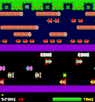 Here is one of the #VideoArcade giants of it's time #Frogger by #Konami!