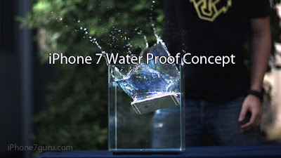 iPhone 7 Water Proof Concept With Picture
