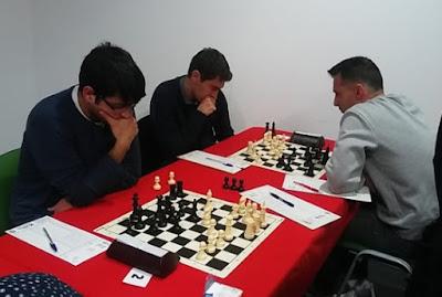 DH R.2, (+2 partidas) EVA Manises 2'5 - 5'5 Paterna (crónica por AI Vicent Gómez)