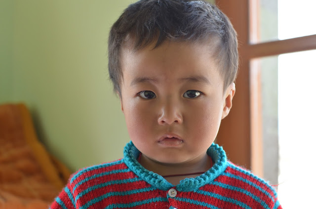 Portrait of a ladakhi kid