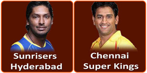 आइपीएल 6 का चौंतीसवां मैच चेन्नई सुपर किंग्स और सनराइजर्स हैदराबाद के बीच होना है।