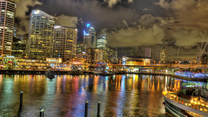 Wallpaper: Darling Harbour