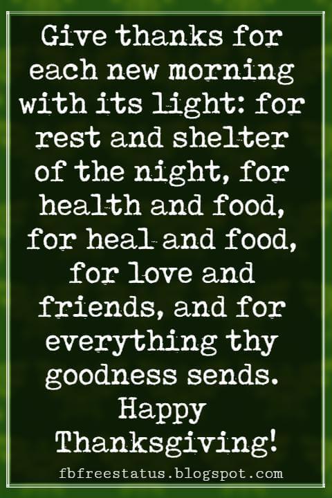 Inspiring Thanksgiving Quotes