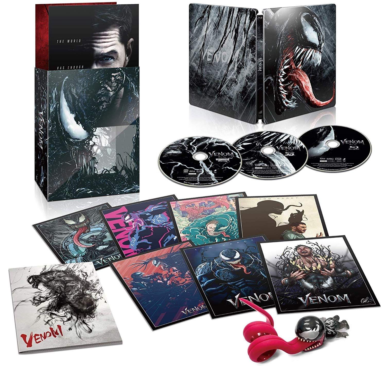 Movie Shopper's Guide - Venom [Blu-ray] : トム・ハーディ主演のアンチ・ヒーロー映画の大ヒット作「ヴェノム」の Blu-ray が今春3月6日に発売 ! !