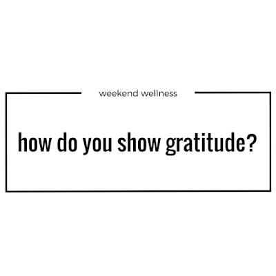 How do you show gratitude?