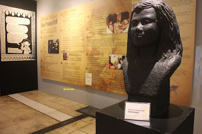 Patung Marsinah di Museum Omah Munir.