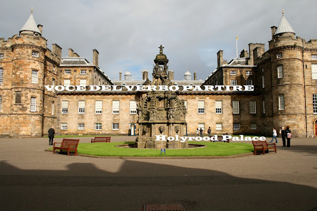 COSA VEDERE IN SCOZIA: HOLYROOD PALACE