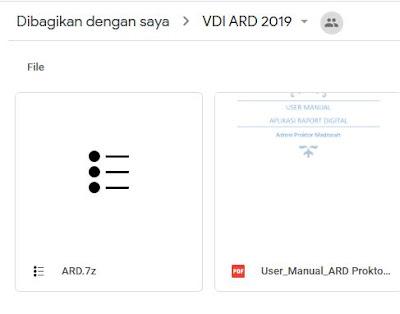 Download VDI ARD Terbaru (RA, MI, MTs, MA)