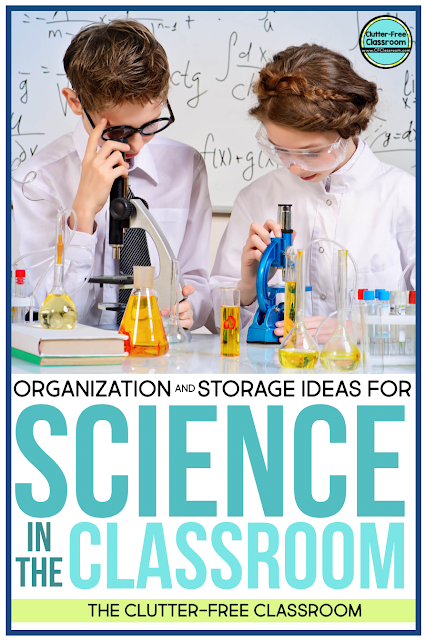 Science centers and stations bring the Next Generation Science Standards (NGSS) to life! There are so many science tools like magnifying glasses that require storage. Check out my storage solutions using shelves, drawers tubs, baskets, and more to facilitate strong classroom organization.
