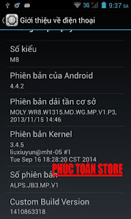 Rom HTC M8 mt6572 alt
