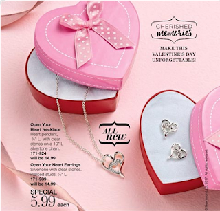Avon Open Your Heart Jewelry
