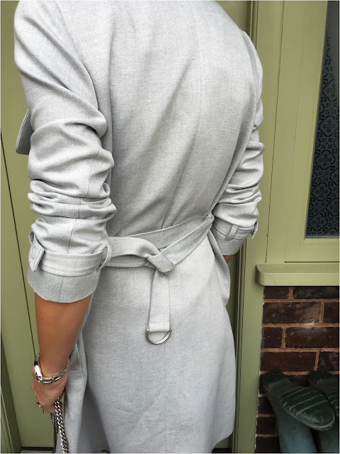 My Midlife Fashion, Great Plains Claudie Suiting Trench Coat